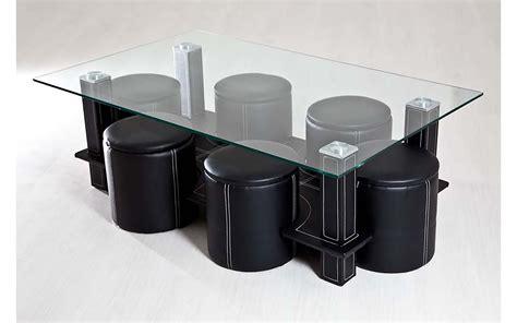 Table Basse S Pouf