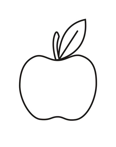 apple coloring pages coloringsuitecom