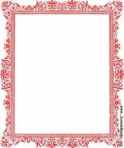 Free coloring pages of decorative borders