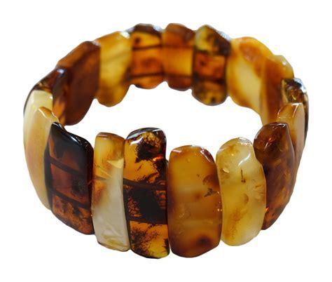Baltic Honey Amber Bracelet   Russian Legacy