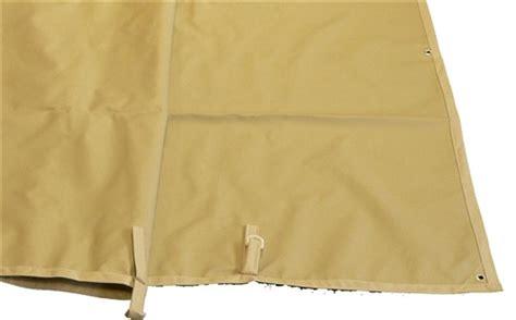 toile de jardin impermeable toile imperm 233 able tonnelle de jardin azur adossee 400 gr pet pvc