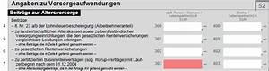 Rürup Rente Berechnen : r rup rente steuererkl rung ausf llen und steuervorteile nutzen ~ Themetempest.com Abrechnung
