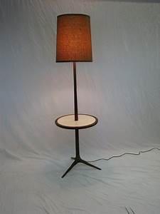 Mid century modern floor lamp table set for Floor and table lamp set uk
