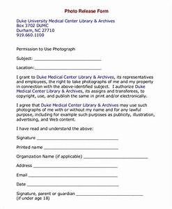 photo release form template 9 free pdf documents With photography permission form template