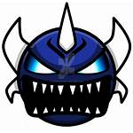 Geometry Dash Demon Face Difficulties Icon Icons