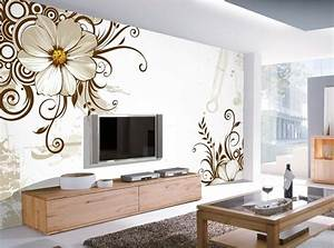 12 3D Wallpaper for TV Wall Units That Will Make a Statement