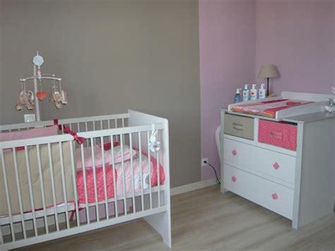 chambre bébé fille et gris idee deco chambre bebe fille et gris visuel 5