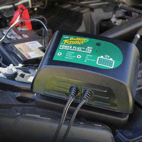 battery tender power   booster battery charger