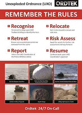 ordtek uxo specialists marine based projects