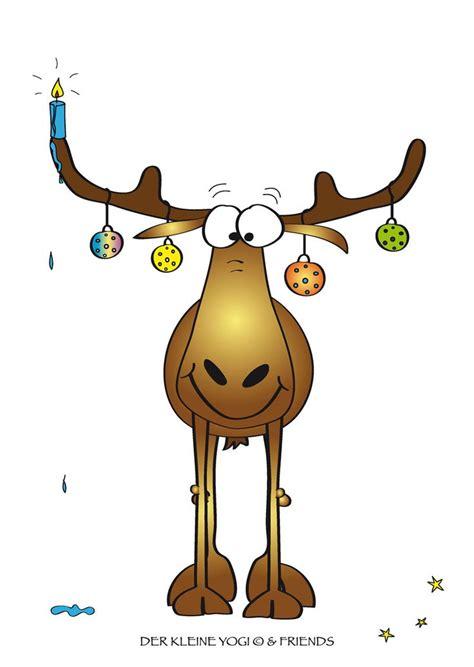 rentier weihnachten zeichnung weihnachten gemaelde