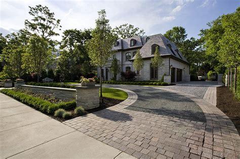 circular driveway landscaping james martin associates traditional landscape chicago by james martin associates