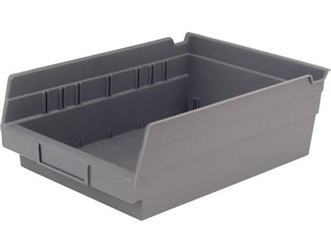 Gray Plastic Shelf Bin At Menards®