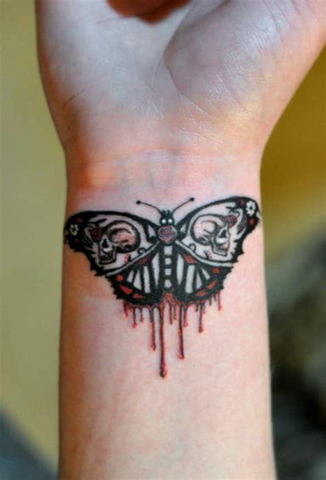 tribal wave tattoo  wrist