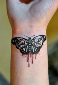 60+ Butterfly Tattoos On Wrists