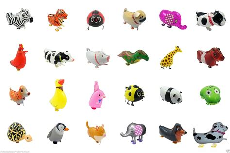 walking pet balloon animal airwalker balloon helium kids