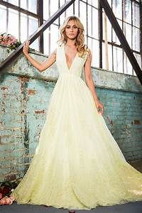 lurelly bridal high fashion wedding dresses inspiration With yellow dresses for weddings