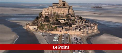 mont st michel parking le mont michel lib 233 r 233 des voitures le point