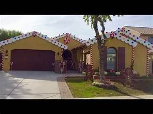DIY Christmas decorating ideas Gingerbread house candyland