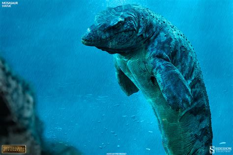 Dinosauria Mosasaur Statue By Sideshow Collectibles