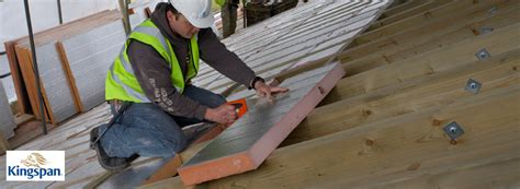 insulating  pitched roof mkm news advice