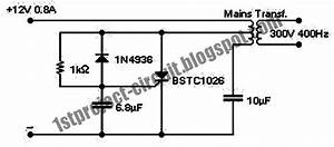 Project Circuit Design  Scr Inverter Circuit Using Bstc1026
