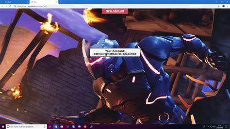 fortnite account generator  skins