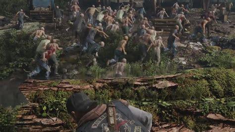 Days Gone E3 2017 Gameplay Walkthrough (2018 Zombie
