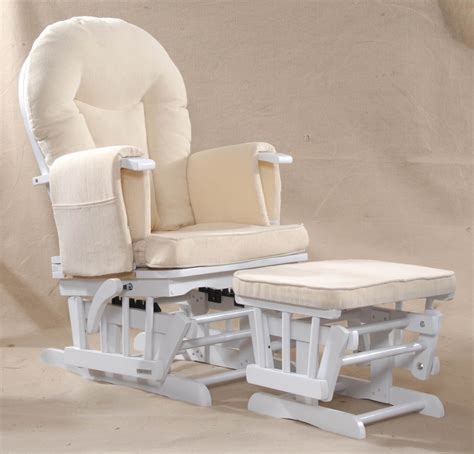 sereno wood or white nursing glider maternity