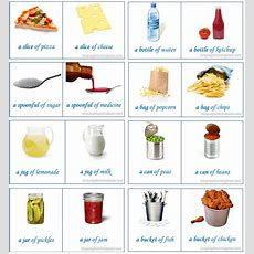 English Vocabulary  Food Containers  Learn English,vocabulary,english,food,containers