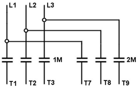 Part Winding Motor Starter Wiring by Delta Wye Motor Wiring Diagrams Impremedia Net