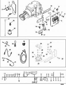 Mercruiser 5 0l Mpi Alpha    Bravo Electrical Components Parts