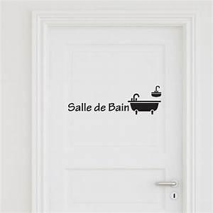Porte De Salle De Bain : sticker porte salle de bain 3 stickers portes salle de ~ Dailycaller-alerts.com Idées de Décoration