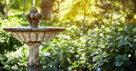 Springbrunnen Für Den Garten  Mein Schöner Garten