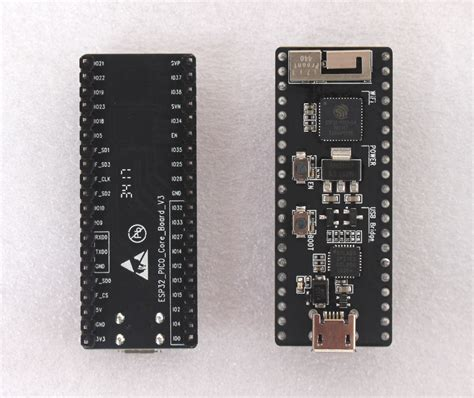A First Look At Esp32 Pico Core Development Board Powered