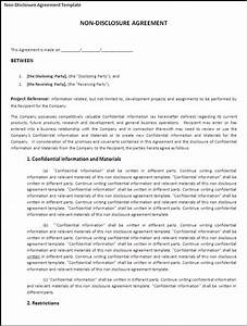 7 free non disclosure agreement templates excel pdf formats for Free nda agreement template