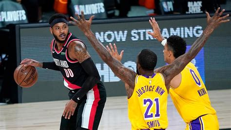 LeBron James and Lakers advance with win over Trail Blazers