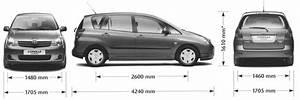 Toyota Verso Dimensions : cars inspiration toyota corolla verso ~ Medecine-chirurgie-esthetiques.com Avis de Voitures