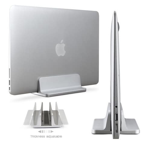 Stand For by Aluminum Vertical Laptop Stand Adjustable Desktop