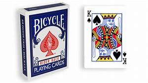 Force, Deck, -, Blau, -, Pik, K, U00f6nig, -, Bicycle, Forcierspiel, -, Forcing, Cards