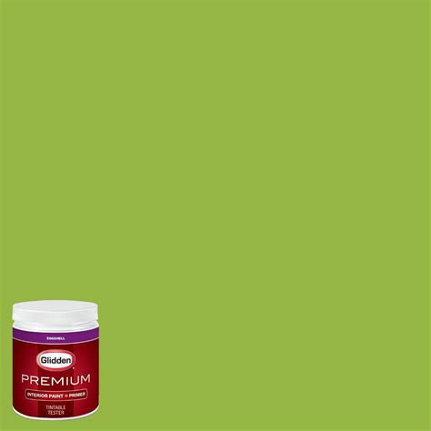 glidden premium 8 oz nfl 120g seattle seahawks light green eggshell interior paint with primer