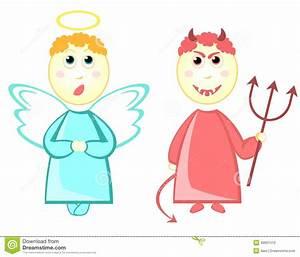 Devil Angel Cartoon | www.pixshark.com - Images Galleries ...