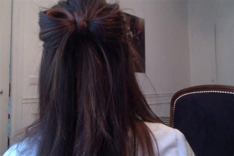coiffure facile et rapide pour tous les jours le noeud