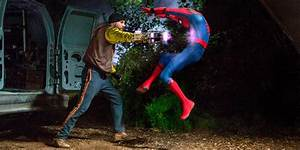 Shocker Faces Spidey in New Homecoming Photos