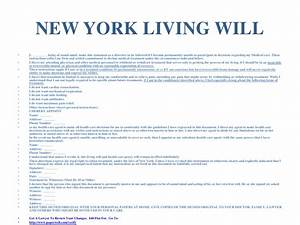 Living will form florida advance directives living will for Nys will template