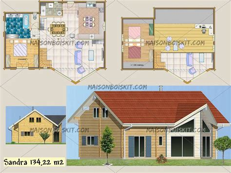 plan de maison en bois gratuit plans gratuits de maisons individuelles en bois