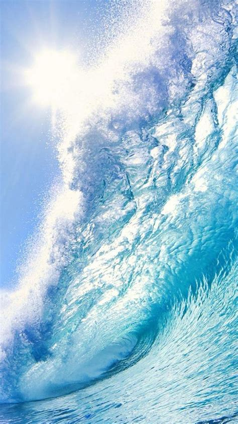 great waves android wallpaper android hd wallpapers