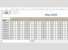 Free Excel Leave Tracker Template