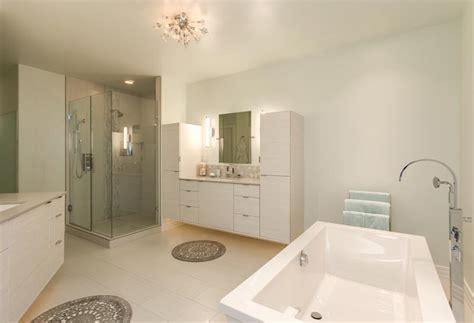 spectacular modern bathroom renovation  denver jm