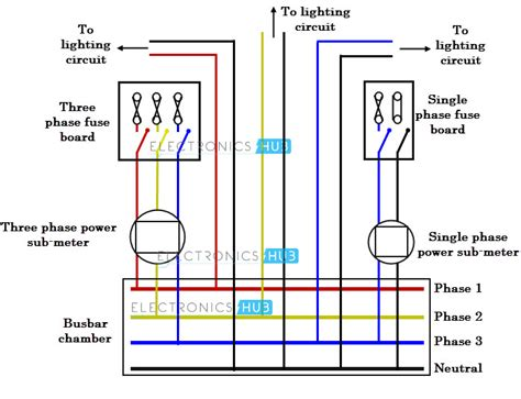 three phase electrical wiring diagram three phase wiring