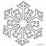 Coloring Snowflake Snowflakes Printable Cool2bkids Sheets Patterns Pattern Templates Borax Crystal Winter sketch template